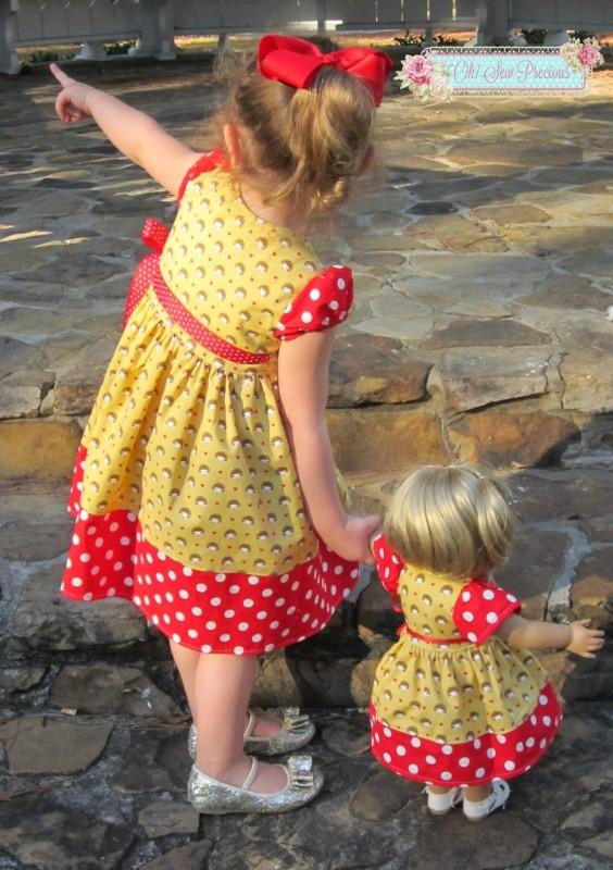 Mini Bubblegum Amp Bubblegum Swing Dress