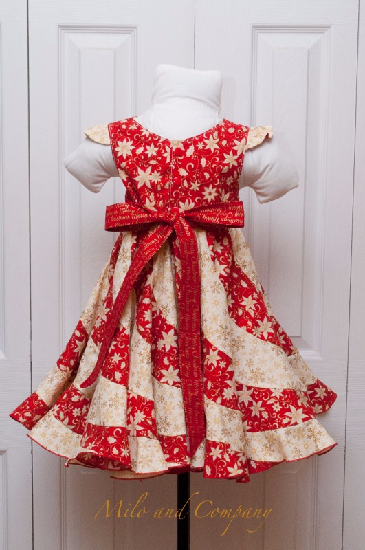 Peppermint Swirl Dress